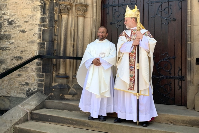 Congratulations to Father Steve Talbutt