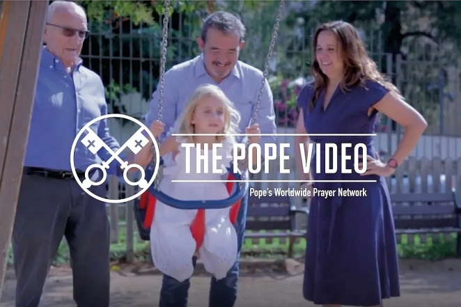 The Treasure of Families - The Pope Video - August 2018